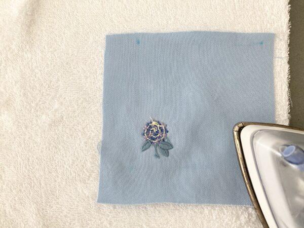 【図案つき】アジサイ刺繍コースターの作り方