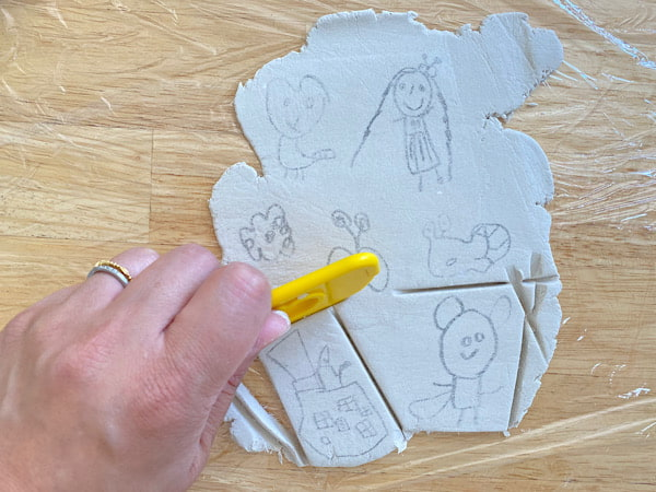 こどものお絵かきを残そう!イラスト粘土の作り方