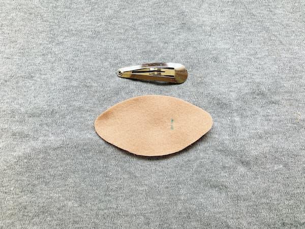 針・糸不要!切って貼るだけ簡単ぱっちんどめの作り方