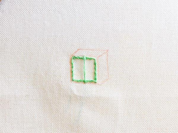 刺繍の基本!サテンステッチのやり方(刺し方)※写真付き