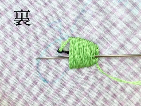 【図案つき】父の日ギフトに!ゴルフの刺繍ハンカチの作り方