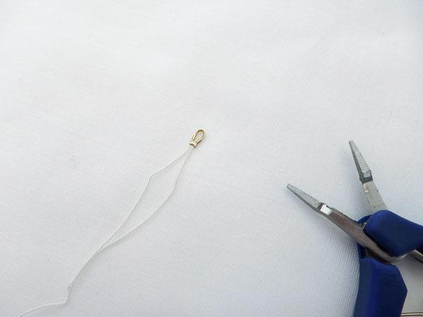 アレンジ自在。パールの2連ネックレスの作り方