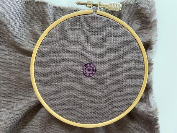 刺繍枠にピッタリ!まあるいピンクッションの作り方