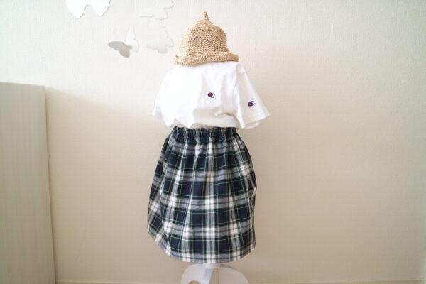 びっくり簡単!スカートの作り方