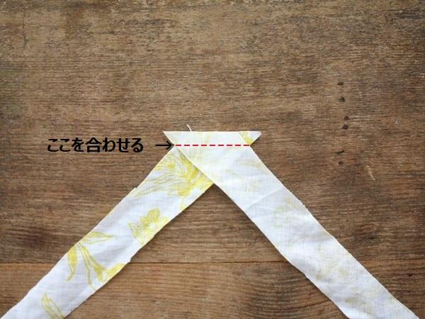 型紙不要!ドロップショルダープルオーバーの作り方