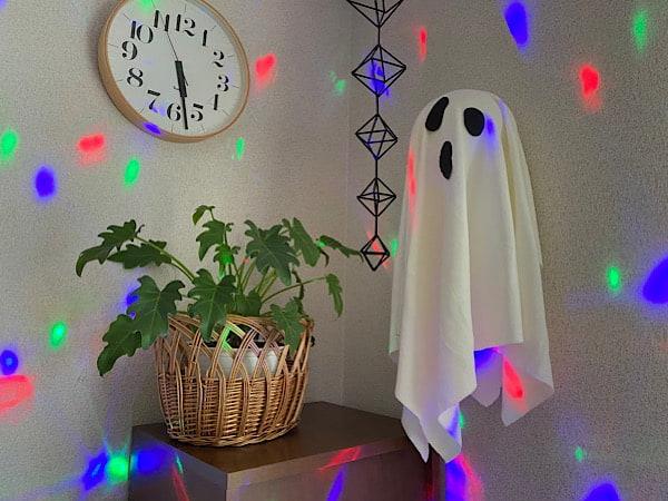 ハロウィンパーティーに!風船ゴーストの作り方