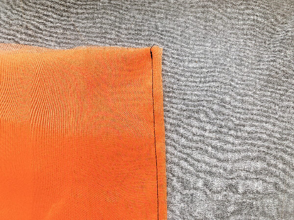 1回縫うだけ!簡単かぼちゃオブジェの作り方